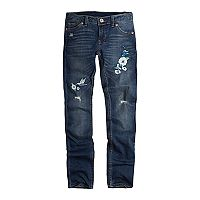 Girls 7-16 Levi's 711 Embroidered Flower Skinny Jeans