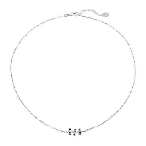 LC Lauren Conrad Triple Rondelle Necklace