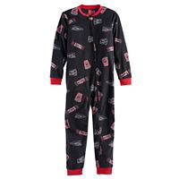Kids 4-20 Jammies For Your Families Movie Night Microfleece One-Piece Pajamas