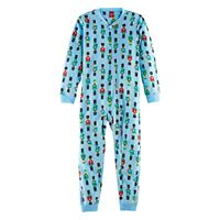 Kids 4-20 Jammies For Your Families Nutcracker Microfleece One-Piece Pajamas