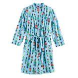 Kids 4-20 Jammies For Your Families Nutcracker Microfleece Robe