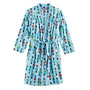 Kids 4-20 Jammies For Your Families Nutcracker Microfleece Robe