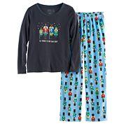 Girls 7-16 Jammies For Your Families Nutcracker Top & Fleece Bottoms Pajama Set