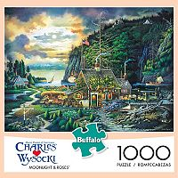 Charles Wysocki Moonlight & Roses 1,000-pc. Puzzle by Buffalo Games