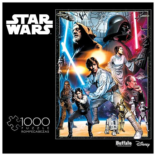 Star Wars The Circle Is Now Complete 1000-pc. Puzzle by Buffalo Games