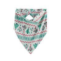 Pet Jammies For Your Families Christmas Tree Fairisle Handkerchief