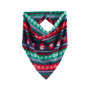 Pet Jammies For Your Families Snowman Fairisle Handkerchief
