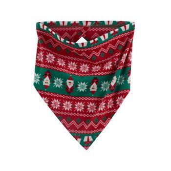Pet Jammies For Your Families Santa Fairisle Handkerchief