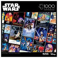 Star Wars Original Trilogy Posters 1000-pc. Puzzle by Buffalo Games
