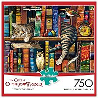 Charles Wysocki Frederick The Literate 750 pc Puzzle by Buffalo Games