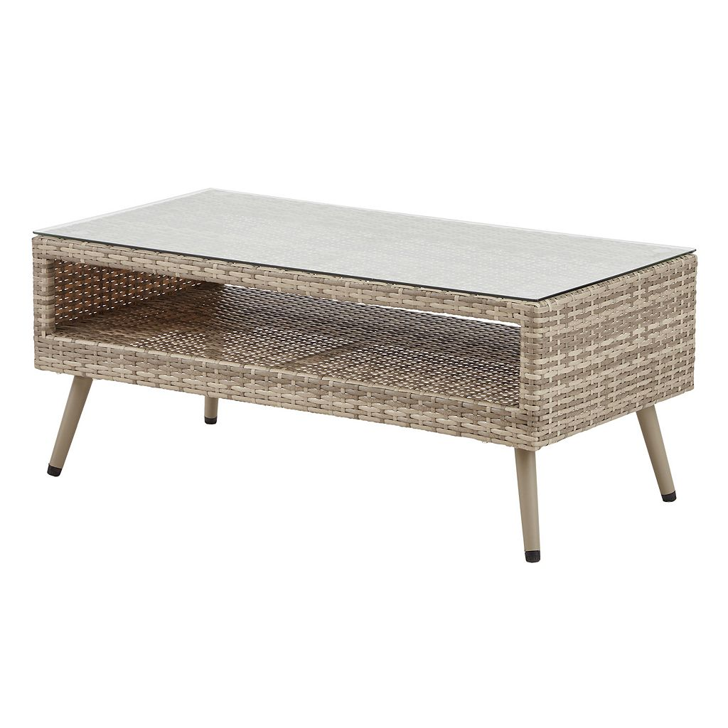 INK+IVY Avery Patio Coffee Table