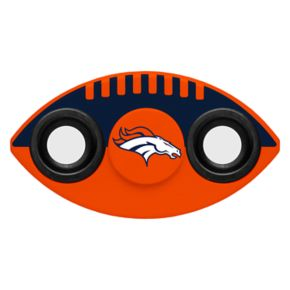 Denver Broncos Diztracto Two-Way Football Fidget Spinner Toy
