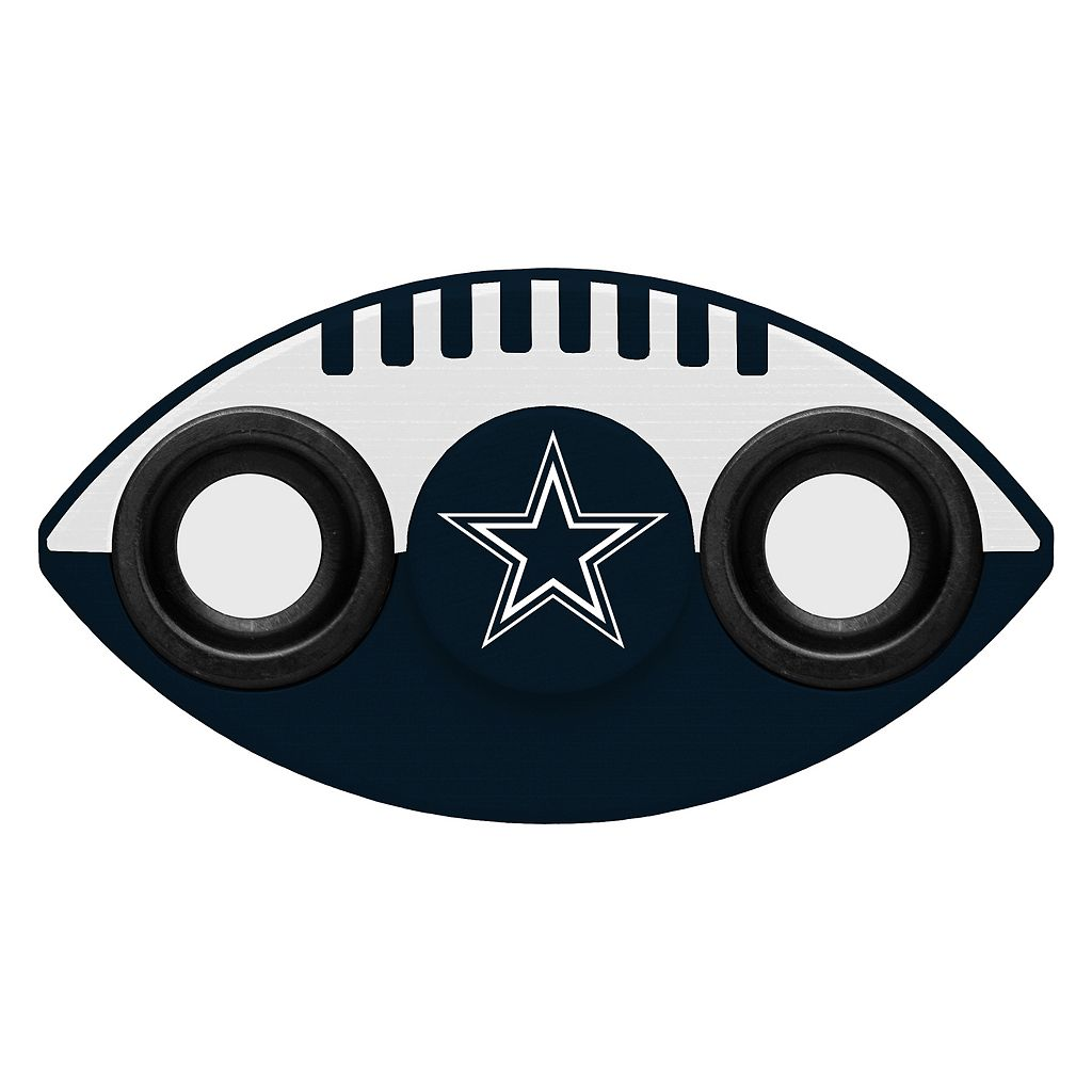 Dallas Cowboys Diztracto Two-Way Football Fidget Spinner Toy
