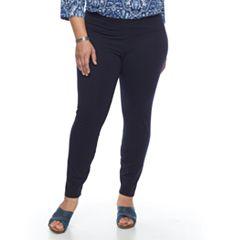 Plus Size Croft & Barrow® Tummy Control Leggings