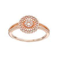 LC Lauren Conrad Openwork Pinwheel Ring