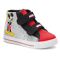 Disney's Mickey Mouse Toddler Boy's High Top Sneakers