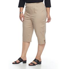 Plus Size Croft & Barrow® Pull-On Capris