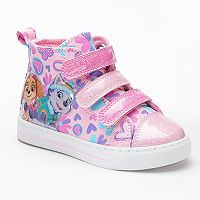 Paw Patrol Skye & Everest Toddler Girls' High Top Shoes