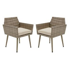 INK+IVY Avery Patio Arm Chair 2 pc Set