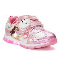 Disney's Beauty and the Beast Belle Toddler Girls' Light Up Sneakers