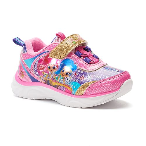 Shimmer and Shine Toddler Girls' Light-Up Sneakers