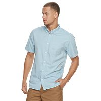 Men's Vans Mini-Hex Button-Down Shirt
