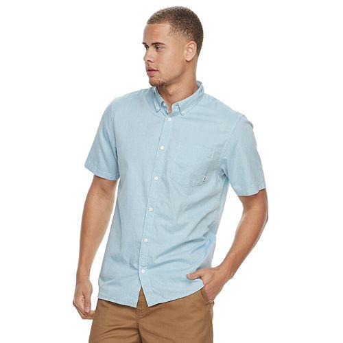 Men's Vans Mini-Hex Button-Down Shirt