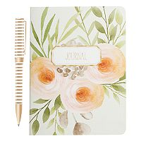 Laura Ashley Lifestyles Floral Journal & Pen 2-piece Set