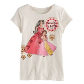 "Disney's Elena of Avalor Toddler Girl ""Family Is Love"" Graphic Tee by Jumping Beans®"