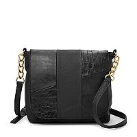 Relic Brielle Patchwork Flap Crossbody Bag