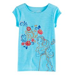 Disney's Elena of Avalor Girls 4-7 'Ready To Rule' Graphic Tee by Jumping Beans®