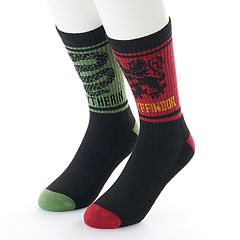 Men's Harry Potter 2-Pack Athletic Crew Socks