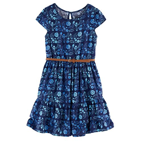 Disney's Elena of Avalor Toddler Girl Floral Ruffle Dress by Jumping Beans®