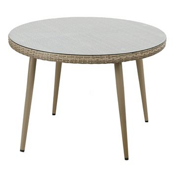 INK+IVY Avery Round Patio Dining Table