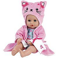 Adora Dolls Bathtime Baby Doll Kitty Cat Set