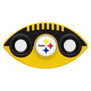 Pittsburgh Steelers Diztracto Two-Way Football Fidget Spinner Toy