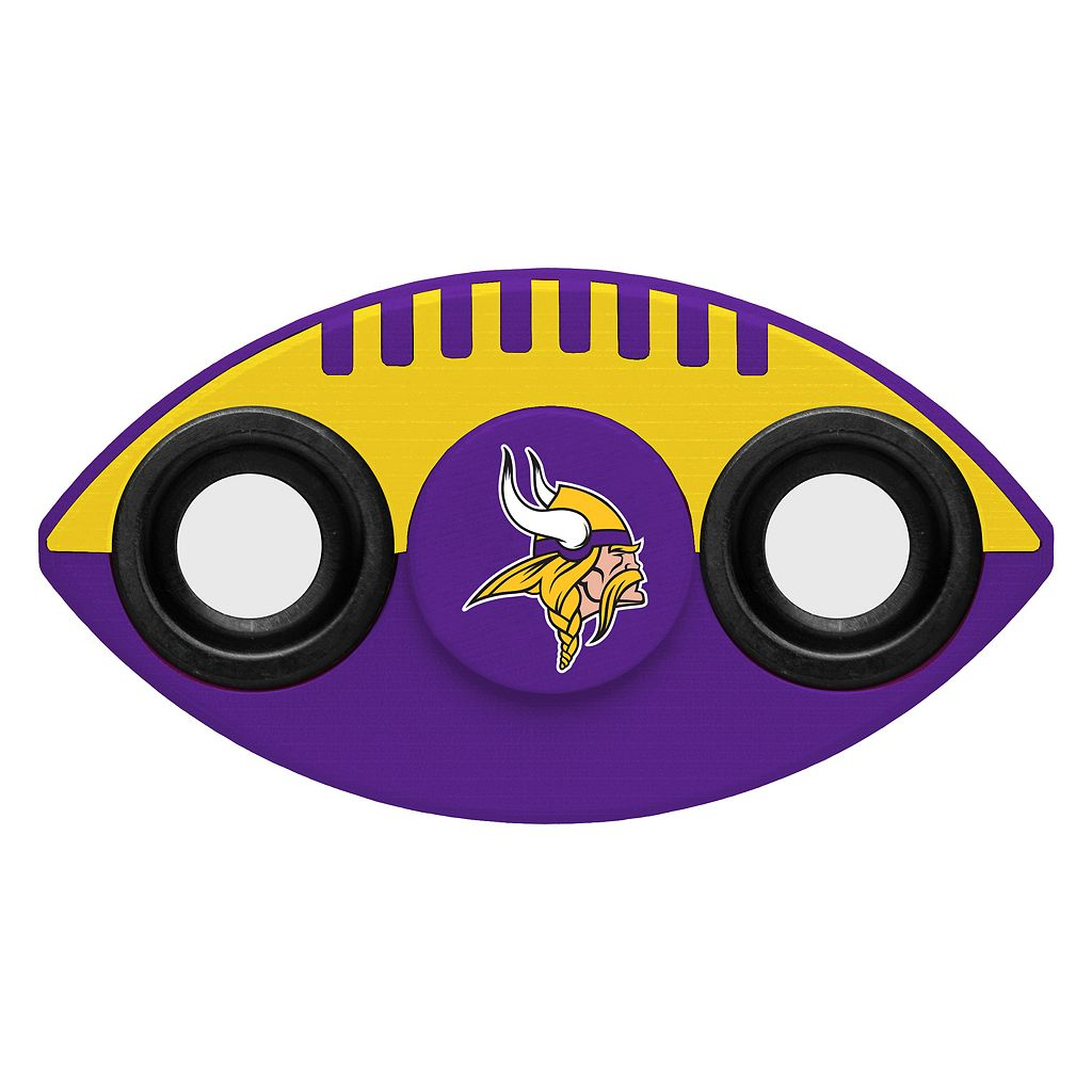 Minnesota Vikings Diztracto Two-Way Football Fidget Spinner Toy