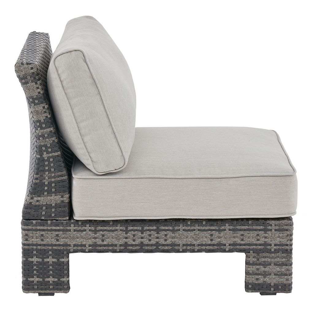 Madison Park Lenox Modular Sectional Patio Accent Chair