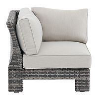Madison Park Lenox Modular Sectional Patio Corner Chair