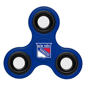 New York Rangers Diztracto Three-Way Fidget Spinner Toy
