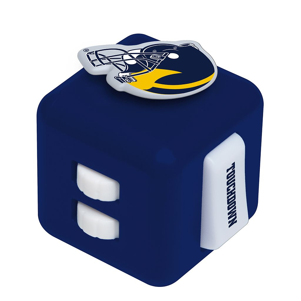 Michigan Wolverines Diztracto Fidget Cube Toy