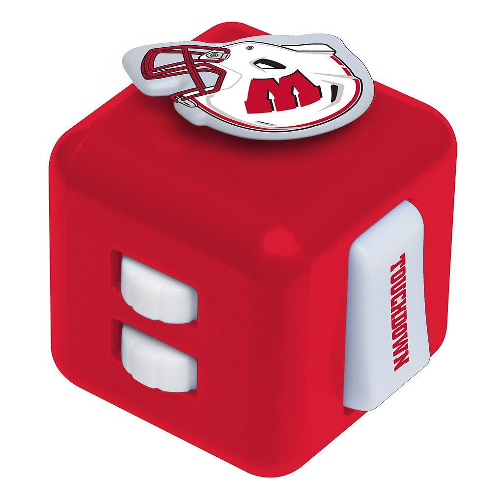 Wisconsin Badgers Diztracto Fidget Cube Toy
