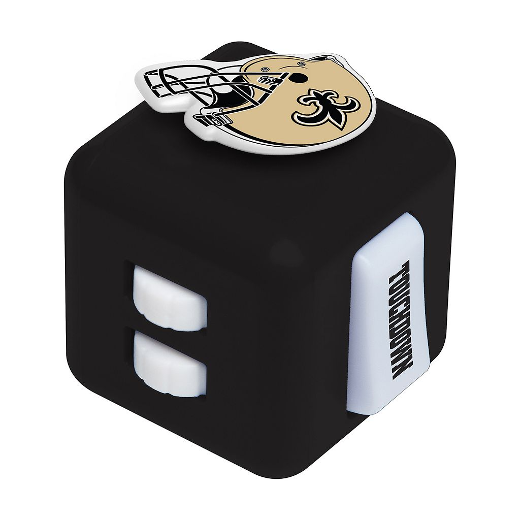 New Orleans Saints Diztracto Fidget Cube Toy