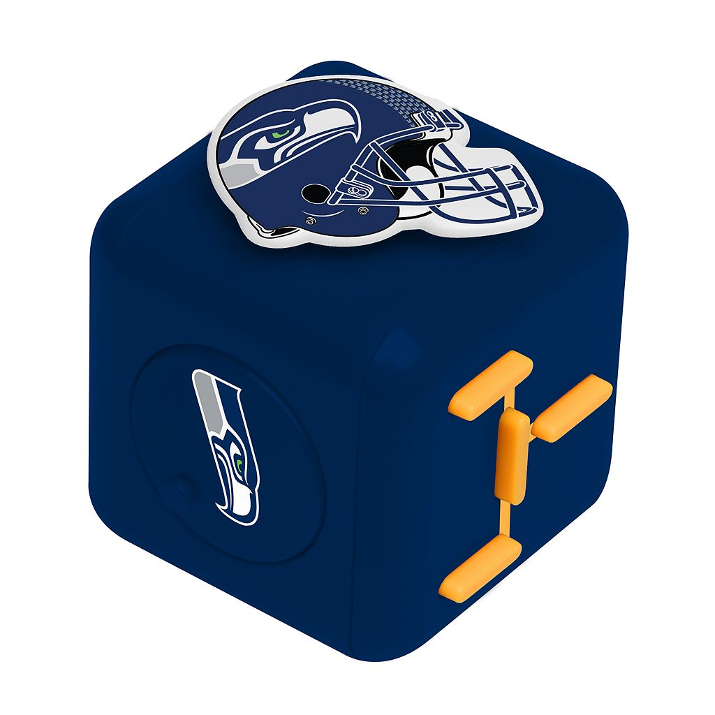 Seattle Seahawks Diztracto Fidget Cube Toy