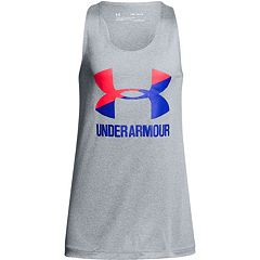 Girls 7-16 Under Armour Big Logo Tank Top