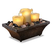 Laura Ashley Lifestyles LED Candle Fountain Table Decor