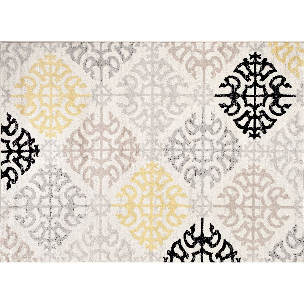 World Rug Gallery Toscana Contemporary Geometric Rug