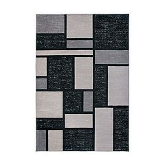 World Rug Gallery Toscana Contemporary Modern Boxes Rug