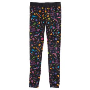 "Disney D-Signed Coco Girls 7-16 ""Remember Me"" Printed Leggings"