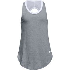 Girls 7-16 Under Armour Finale Solid Tank Top